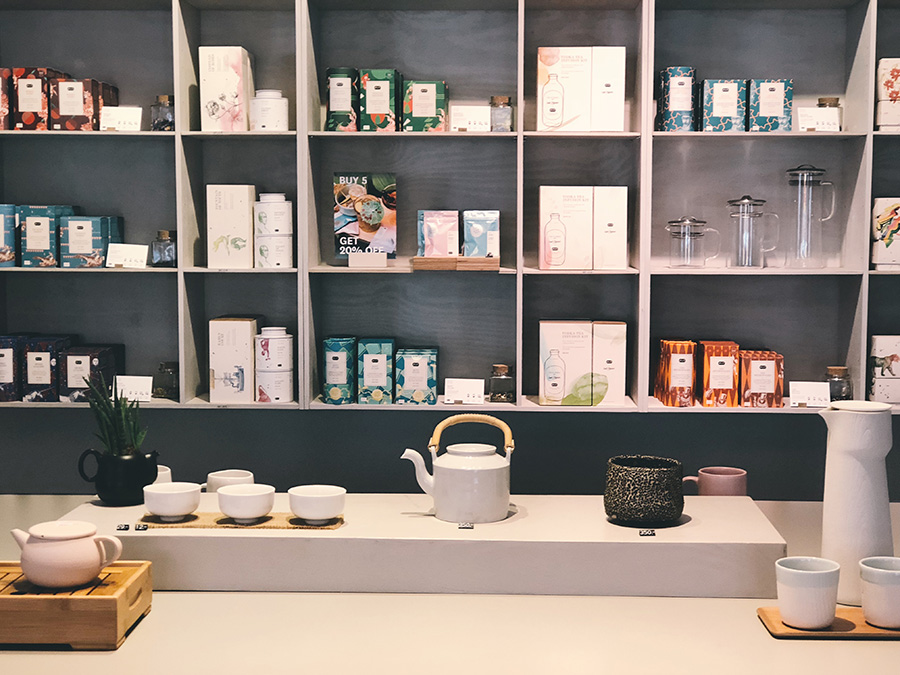 Tea tasting at Paper and Tea