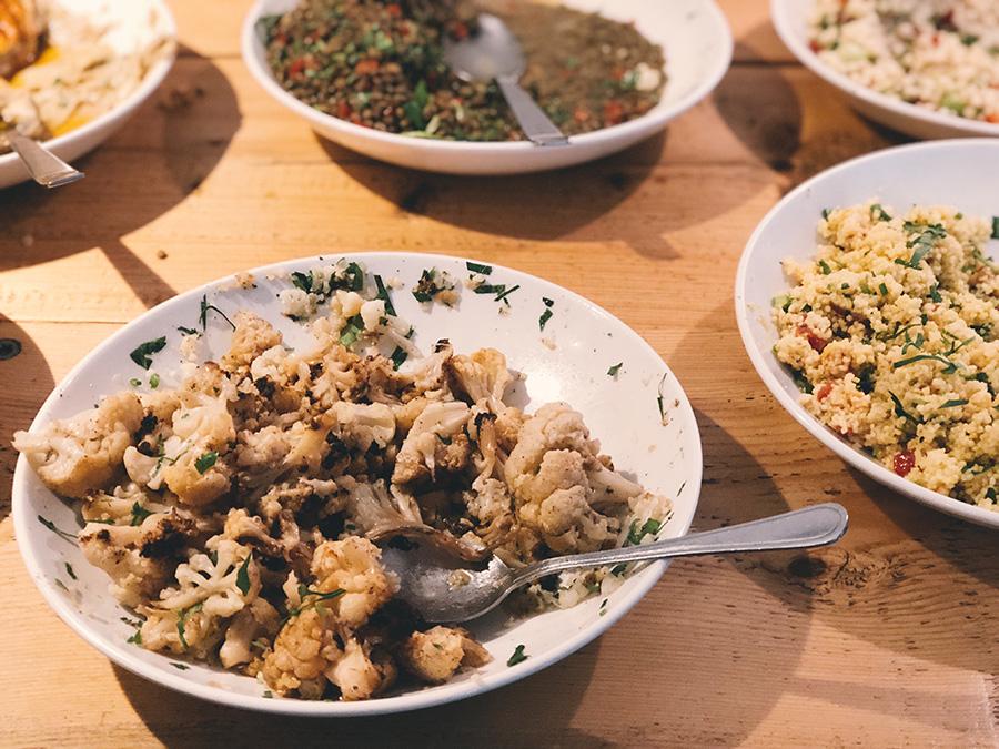 Gordon:  comida israelense deliciosa em Neukölln