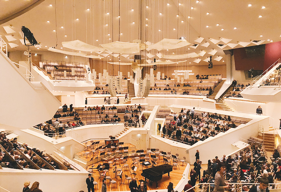A visit to the Berlin Philharmonic