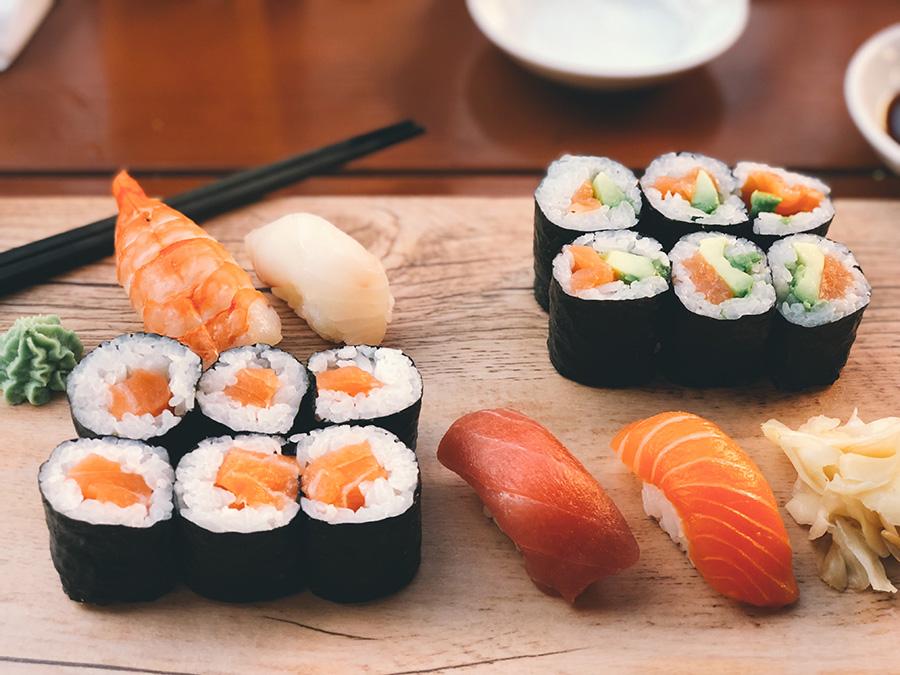 Hangi: meu sushi preferido em Berlim